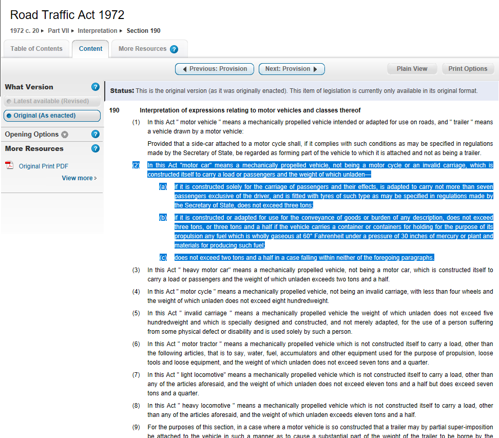 http://www.bentcop.biz/road_traffic_act_1972.png